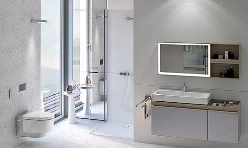 Sanierung des Bades mit neuen Innovationen.