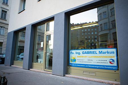 Geschäft von Installateurmeisterbetrieb Markus Gabriel.